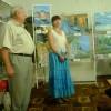 Відкриття виставки С.Синявської